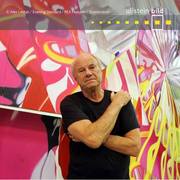 James Rosenquist † 31. März 2017 in New York City