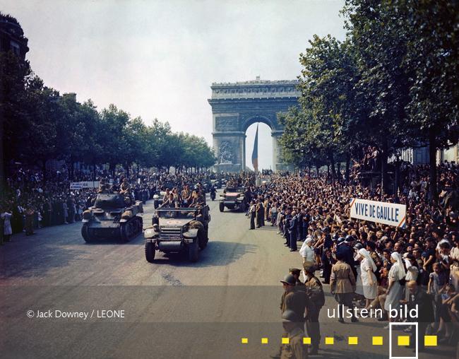 BEFREIUNG VON PARIS 75. Jahrestag am 25. August 2019