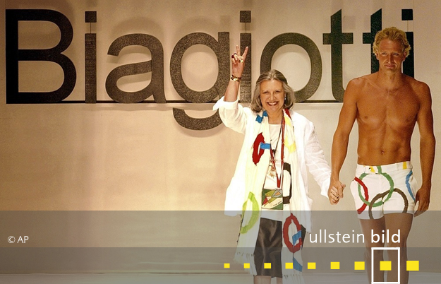 Laura Biagiotti † 26. Mai 2017 in Rom