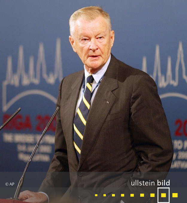 Zbigniew Brzezinski † 26. Mai 2017 in Falls Church, Virginia