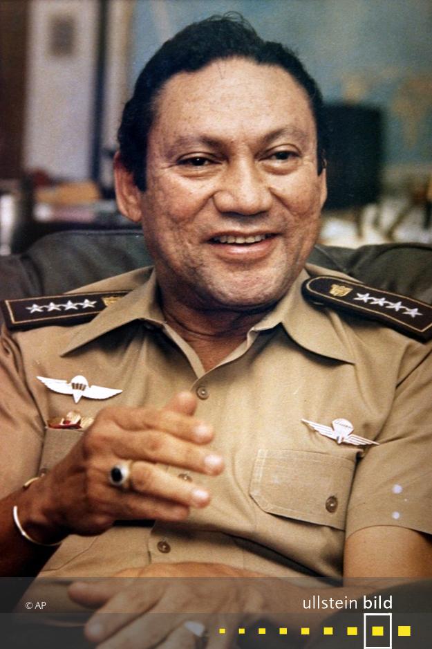 Manuel Noriega † 29. Mai 2017 in Panama City