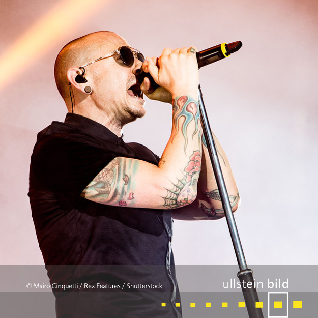 Chester Bennington † 20. Juli 2017 in Palos Verdes Estates, Kalifornien