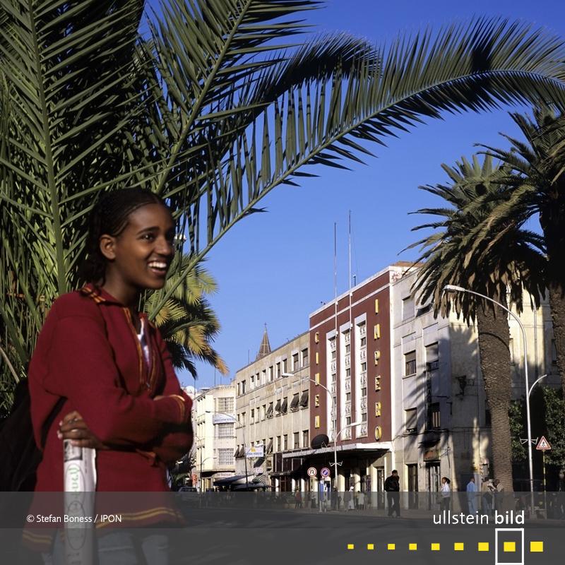 Asmara: Harnet Avenue beim Cinema Impero