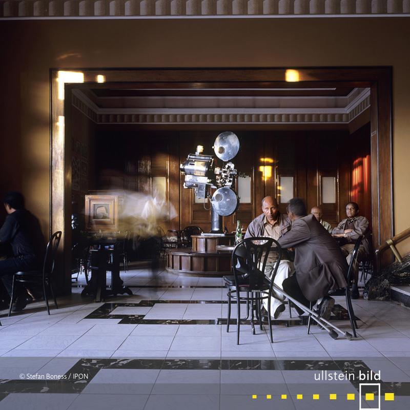 Asmara: Foyer im Cinema Roma, erbaut von Roberto Cappellano 1937 und Bruno Sclafani 1944