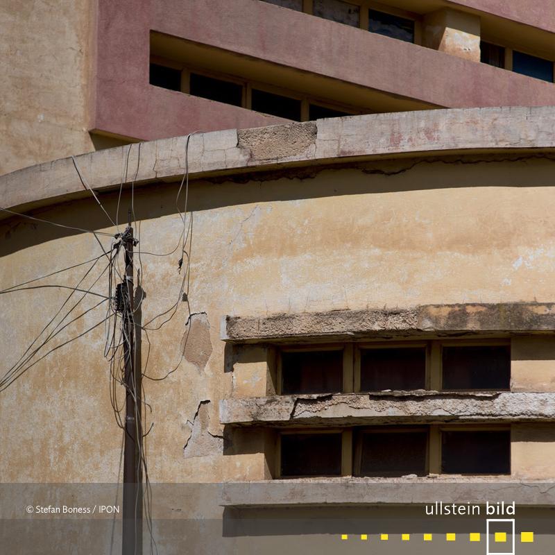 Asmara: Detail vom Capital Cinema, von Ruppert Saviele zwischen 1938 und 1943 erbaut