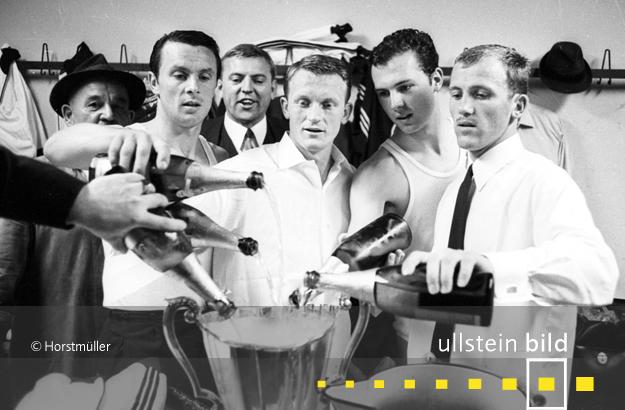 FC Bayern München wird am 31. Mai 1967 Europapokalsieger der Pokalsieger