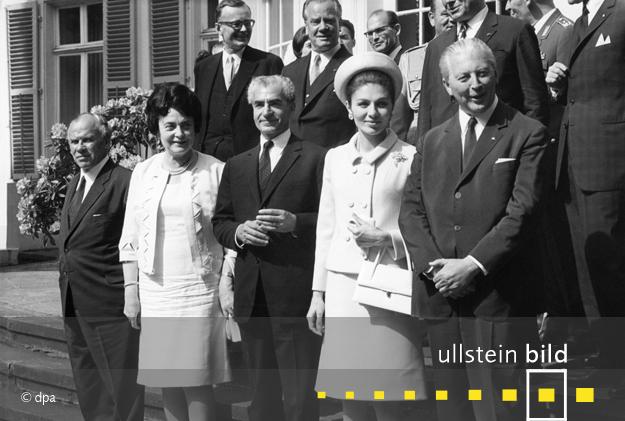 Schah-Besuch in mehreren deutschen Städten vom 27. Mai bis 3. Juni 1967