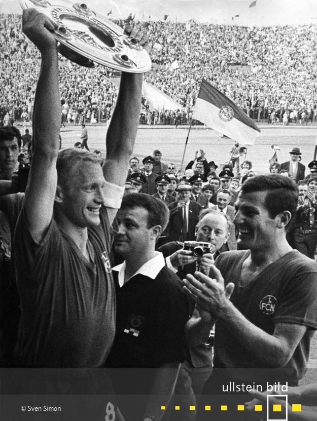 Der 1.FC Nürnberg wird Deutscher Fußballmeister 1967/68
