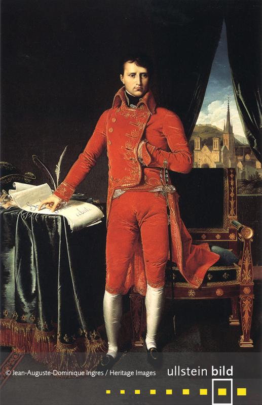1799:  Napoleon Bonaparte beendet durch den Staatsstreich des 18. Brumaire VIII. die Französische Revolution und wird 1. Konsul.