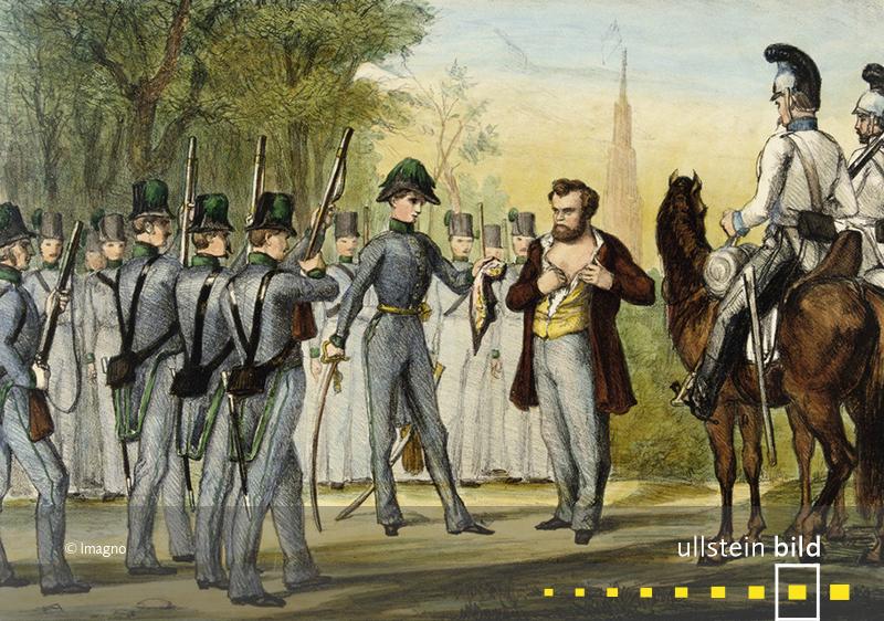 1848: Der republikanische Abgeordnete Robert Blum wird während der Deutschen Revolution standrechtlich erschossen.