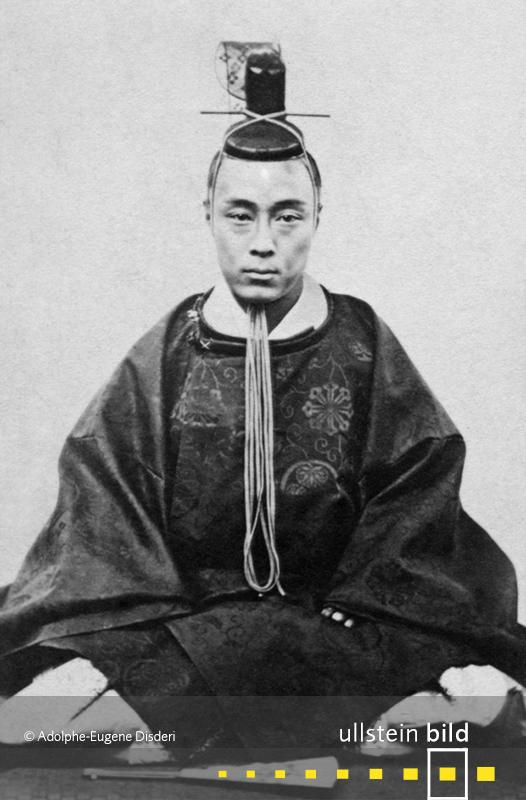 1867: Tokugawa Yoshinobu, der letzte Shogun in Japan, dankt ab.