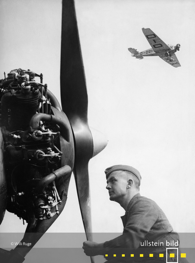 Ausbildung in der Fliegerschule Neuruppin der Reichsluftwaffe (1935)