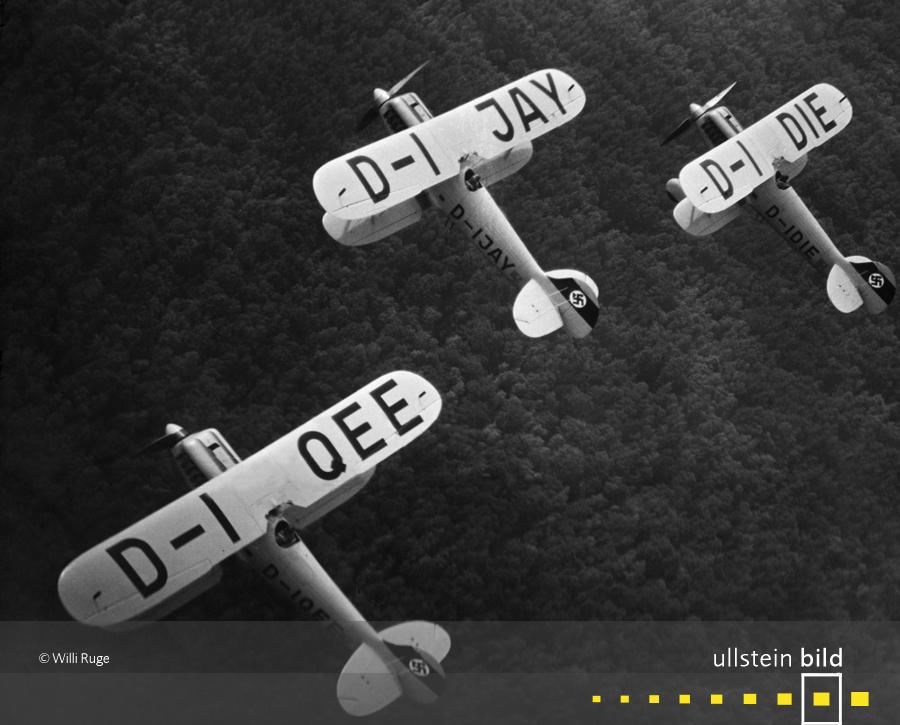 Manöver des Döberitzer Jagdgeschwaders 131 Richthofen (1935)