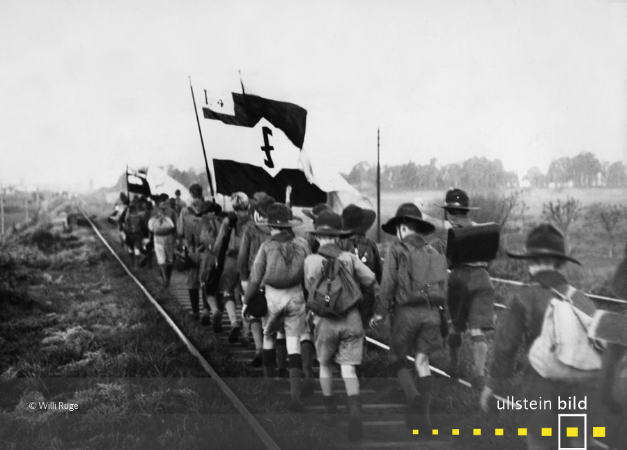 Die deutsche Gruppe der argentinischen Pfadfinder (1934)