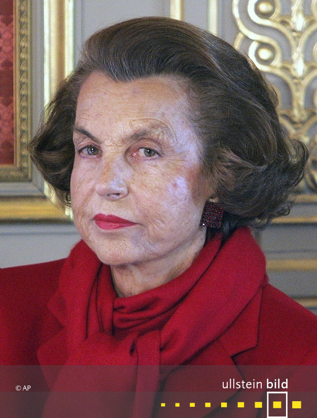 Liliane Bettencourt † 21. September 2017 in Neuilly-sur-Seine