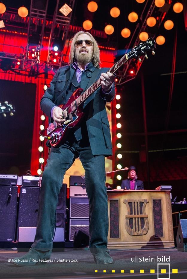 Tom Petty † 2. Oktober 2017 in Santa Monica, Kalifornien