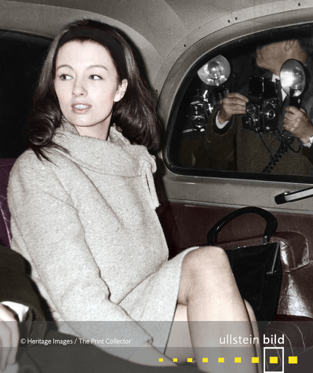 Christine Keeler † 4. Dezember 2017 in Locksbottom, Greater London