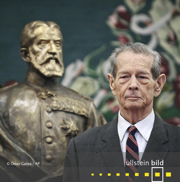 Michael I. König von Rumänien † 5. Dezember 2017 in Aubonne, Schweiz