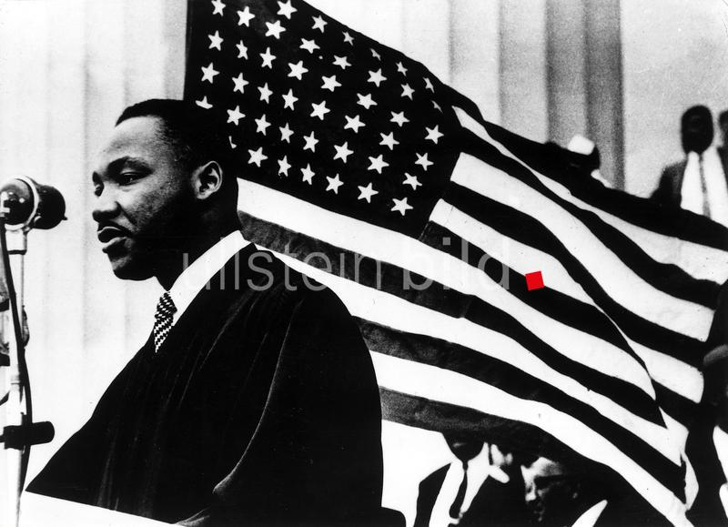 Ermordung von Martin Luther King am 4. April 1968