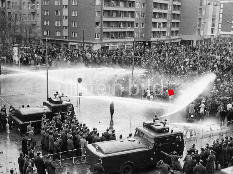 Osterunruhen in mehreren deutschen Städten vom 12.-15. April 1968