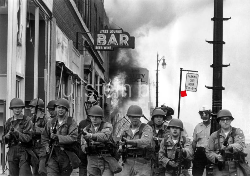 Rassenunruhen in Detroit im Juli 1967