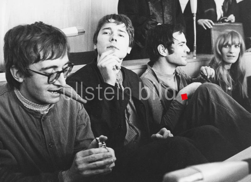 Kaufhausbrandstifter-Prozess in Frankfurt a.M.  14.-31. Oktober 1968