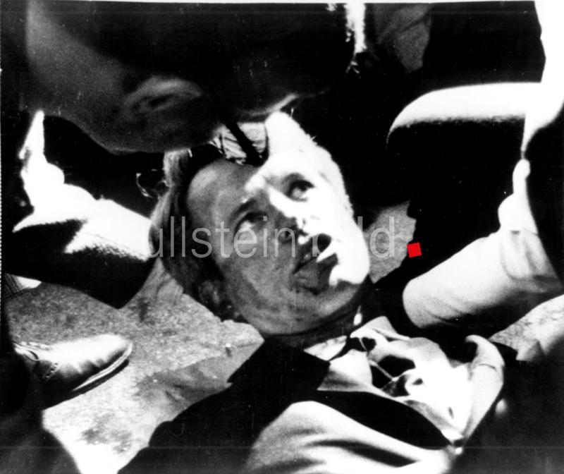 Attentat auf Robert F. Kennedy in der Nacht vom 4. zum 5. Juni 1968