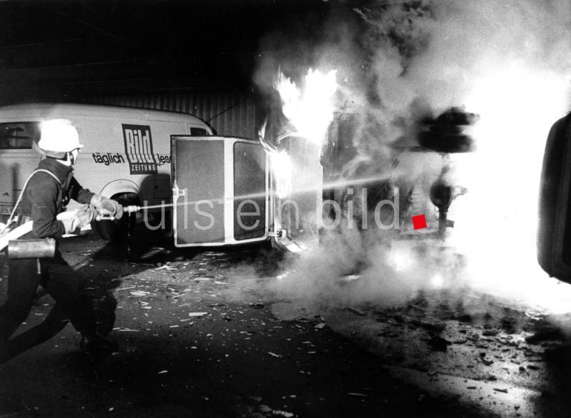 Ausschreitungen bei Protesten gegen den Axel-Springer-Verlag in Berlin am 11. April 1968