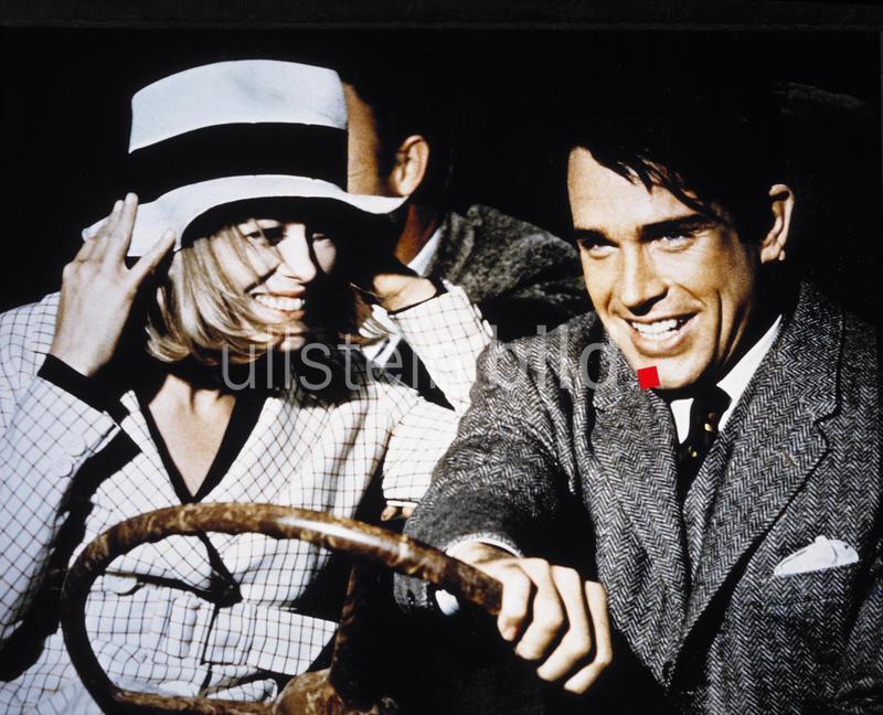 """Filmpremiere von """"Bonnie und Clyde"""" am 19. Dezember 1967"""