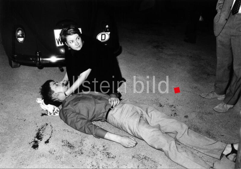 Tod von Benno Ohnesorg am 2. Juni 1967