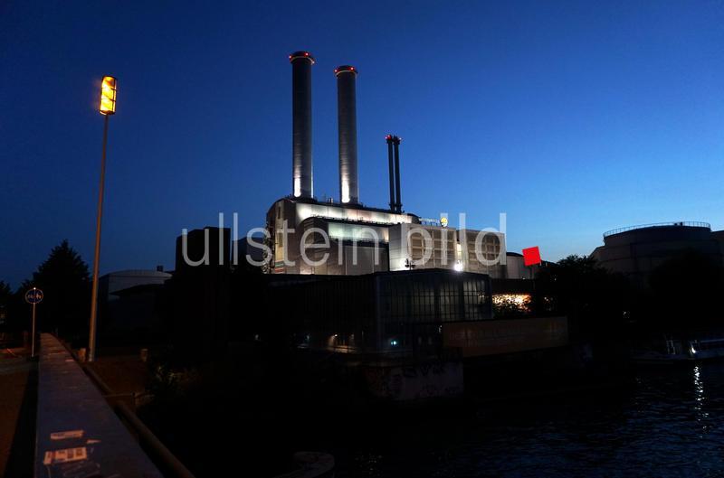 Berlin, Vattenfall Heizkraftwerk im Stadtteil Mitte, aufgenommen am 21. August 2018.