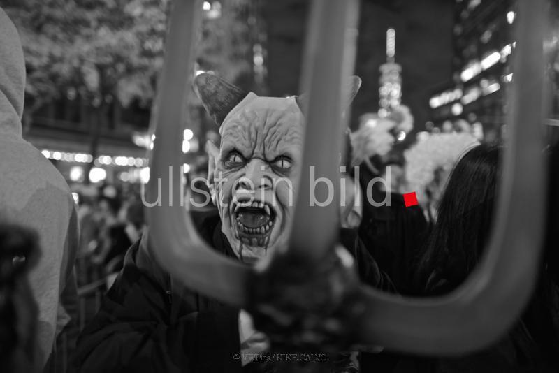 Halloween Parade in New York.