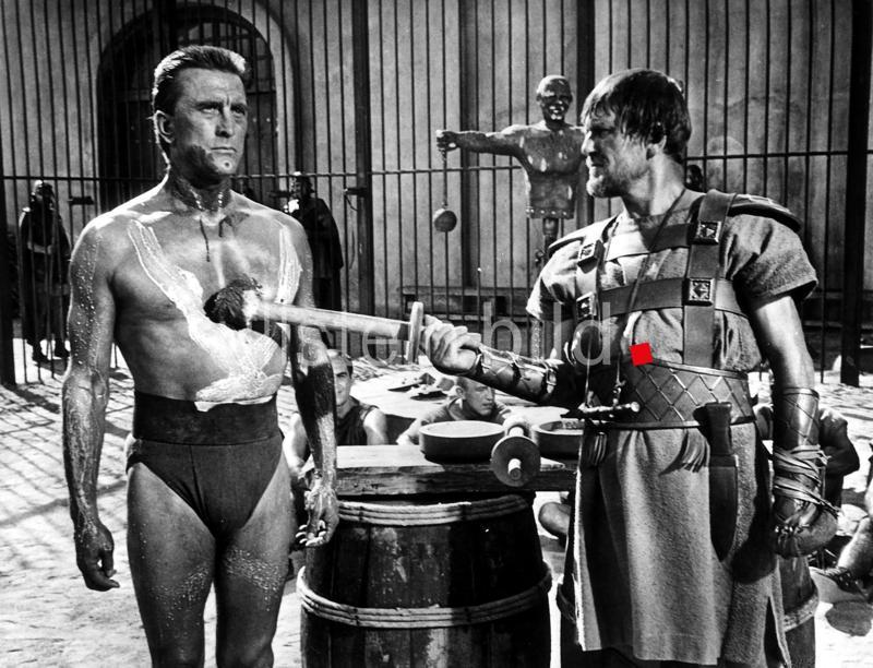 Kirk Douglas als Spartakus in einer Szene des Spielfilms  USA 1961  Regie: Stanley Kubrick