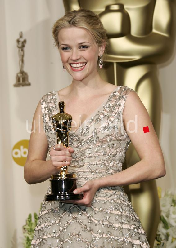 """Reese Witherspoon - Schauspielerin; USA, mit Oscar, dem Academy Award, für die Beste Hauptdarstellerin in """"Walk the Line"""" - 05.03.2006  AP"""