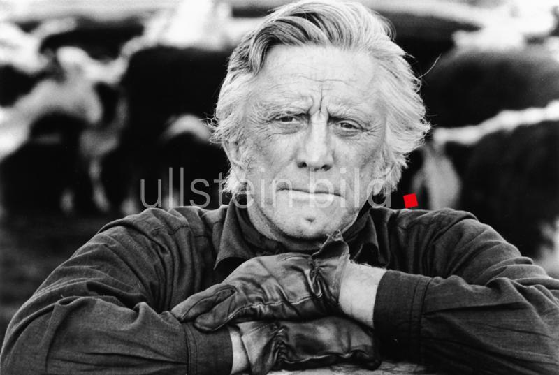 "Kirk Douglas in ""The Man from Snowy River"", USA 1982"