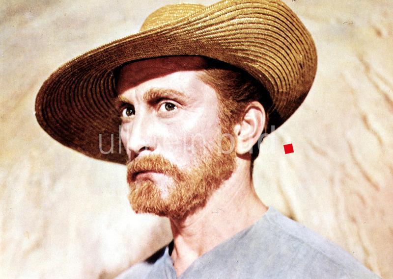 Kirk Douglas in Vincent Van Gogh - Ein Leben In Leidenschaft.