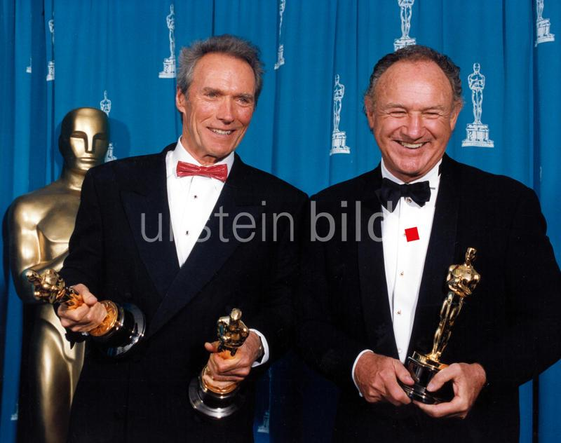 Clint Eastwood and Gene Hackman at the 65th Annual Academy Awards, 1993