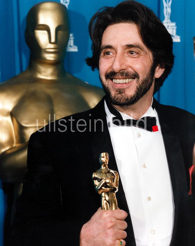 Al Pacino (Best Actor) at the 65th Annual Academy Awards, 1993