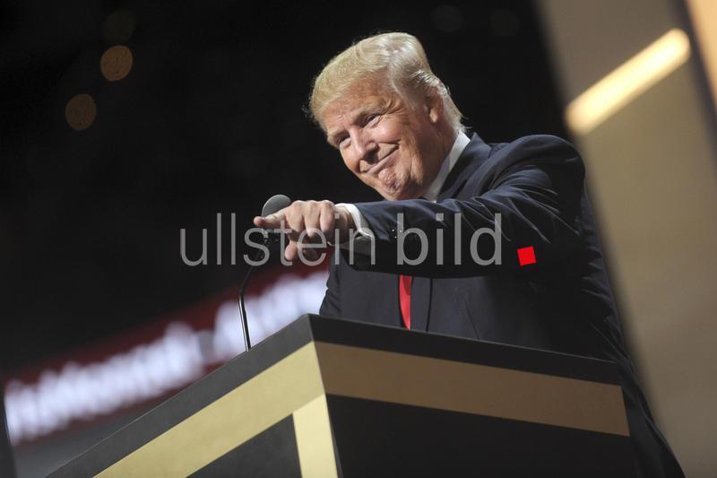 Präsidentschaftskandidat Donald Trump beim republikansichen Nominierungsparteitag