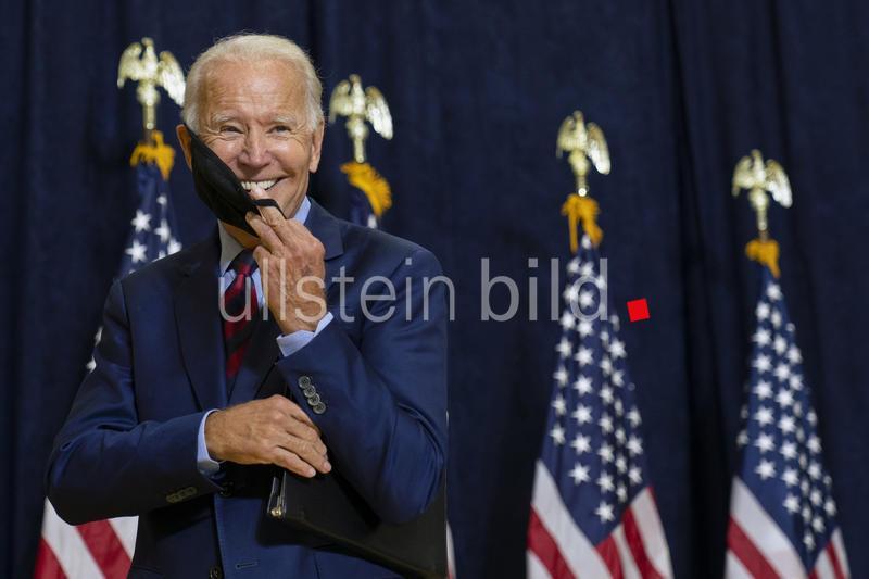 Joe Biden. Democratic presidential candidate.